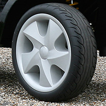 Soft roll puncture free tyres