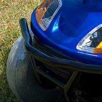 Steel front bumper