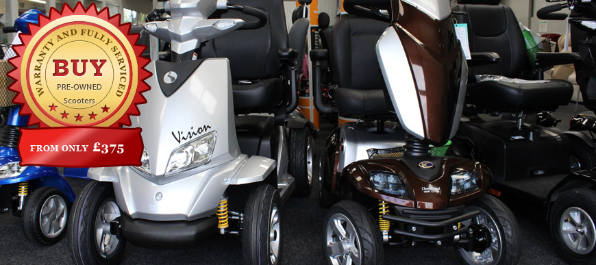 secondhand scooters at charterwood