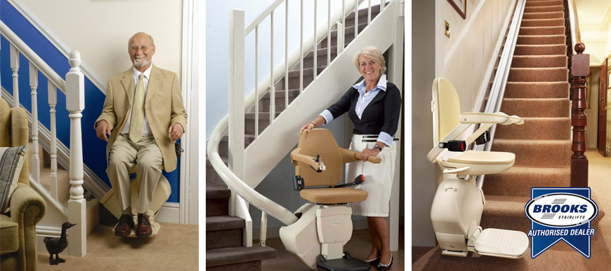 Brooks Stairlifts at Charterwood