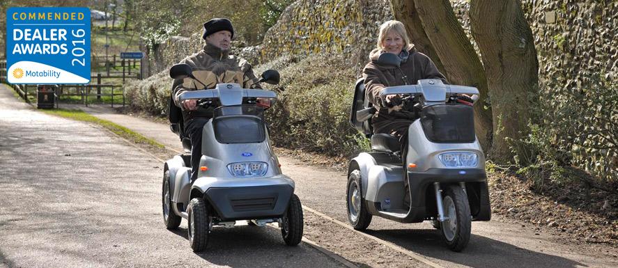 tga scooters charterwood